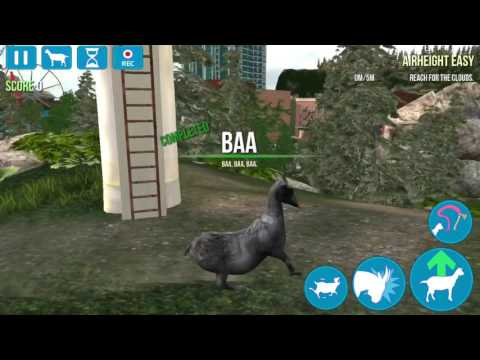 How to get tornado goat in goat simulator