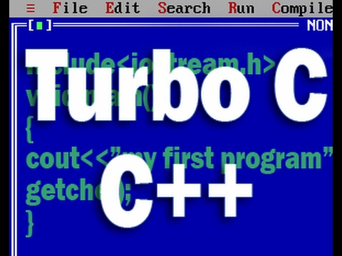 how to create a program on turbo c++