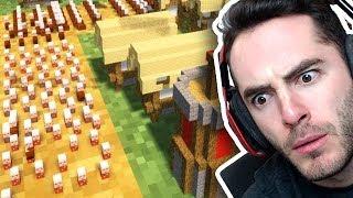 Minecraft: WILD Mini Villager War vs. X33N