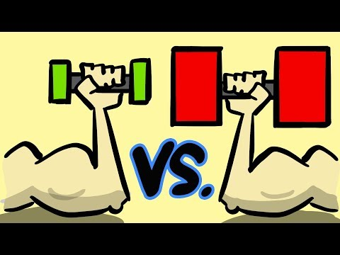 Light Weights Vs Heavy Weights
