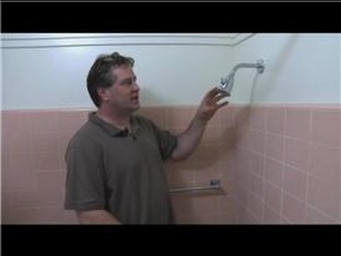 Bathroom Fix-It Tips : How to Remove a Shower Head Ball