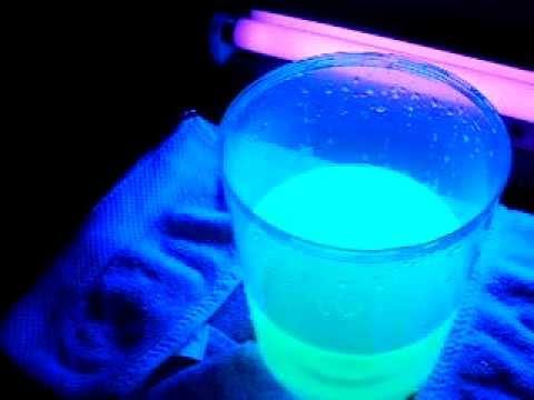 Glow In The Dark Water Highliter Liquid Blacklight