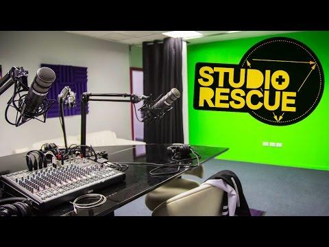 Studio Rescue - Episode 13 - Build a podcast recording studio