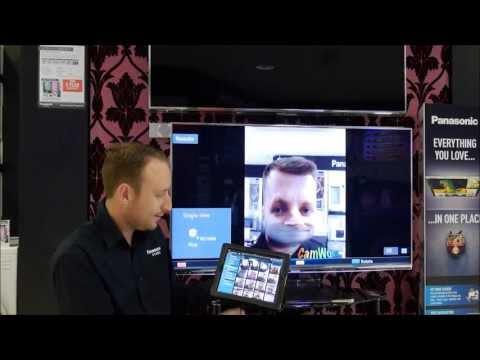 Panasonic Viera Remote Control 2 App Demo & Setup (part 2)