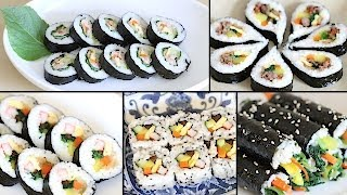 Download How to Make Gimbap (Kimbap): 6 Authentic Variations + 4 Crazy Fusion Variations Video