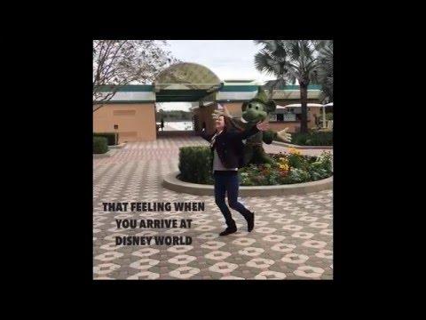 That Feeling When You Arrive at Walt Disney World