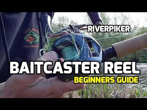 Using a baitcaster reel for lure fishing - Beginners help (video 89)