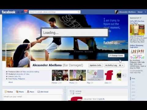 How to insert animated facebook cover photo 2012