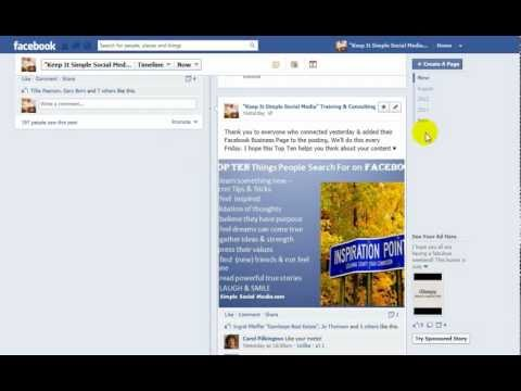 Pinning a Post or Highlighting a Post on Facebook Business Pages