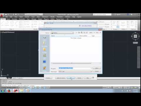 How to Save AutoCAD drawing as PDF