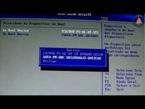 Vídeo Aula de Hardware Básico - Configurar BIOS SETUP - www.professorramos.com - Parte 2