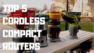 Top 5 BEST cordless compact routers in 2020. There are the best compact cordless wood routers