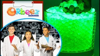 How To Make Glowing Orbeez! - Orbeez Science | Official Orbeez