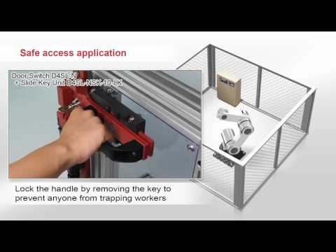 26 Omron D4SL N Guard Lock Safety door Switch Application
