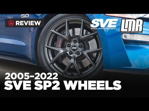 2005-2019 Ford Mustang SVE SP2 Flow Formed Wheels - Review