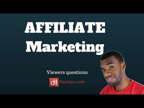 Viewers Questions & Affiliate Marketing For Beginners