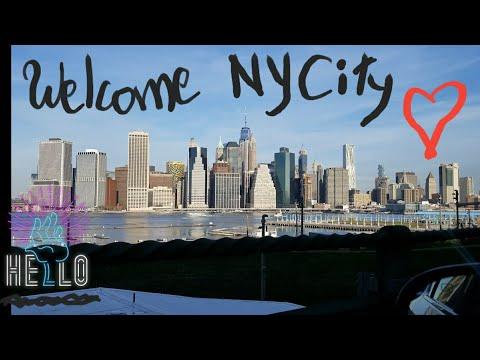 Driving to New York city (Brooklyn Bridge)