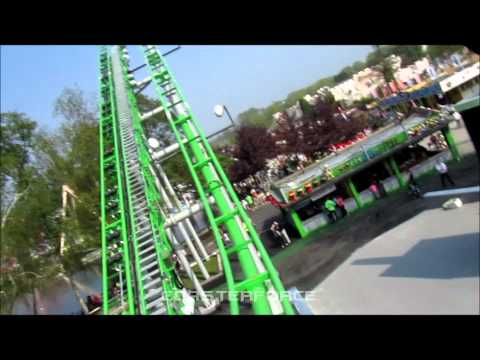 Ben 10 Ultimate Mission front seat HD POV Drayton Manor