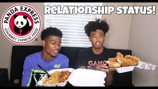 OUR RELATIONSHIP STATUS MUKBANG!!! (WHO DO WE DATE?)