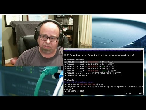 Security Weekly #452 - Tech Segment: Build Your Own Linux Firewall