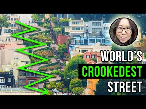 World's Crookedest Street | Lombard in SF