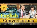 Download  50 Daily English Conversations 😀 Learn to speak English Fluently Basic English Conversation 👍 MP3,3GP,MP4