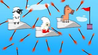 DODGE 1,000,000 ARROWS OR DIE! (Ultimate Chicken Horse)