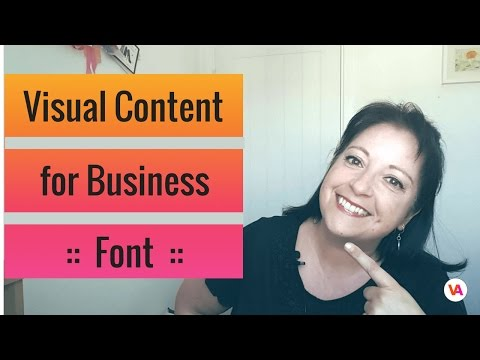 How to Create a Visual Style for your Brand using Font