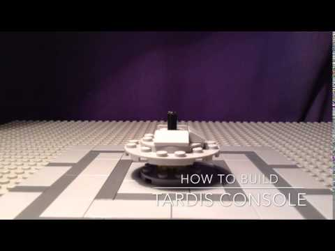Lego Doctor Who How To Build 4: Tardis Console