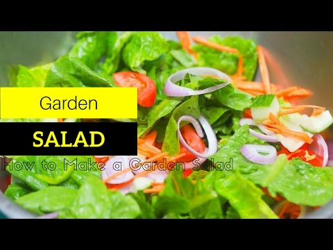 how to make a garden salad fast to make a garden salad at home in just two minutes