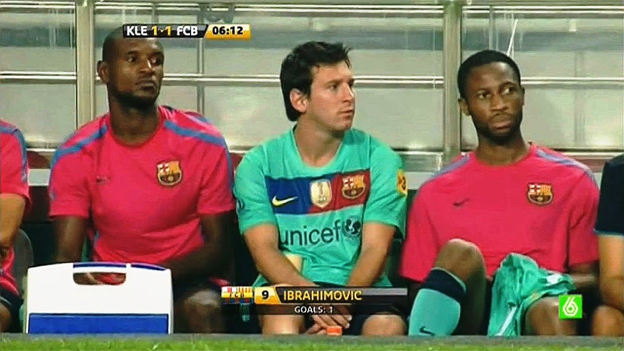 Lionel Messi Comes from Bench to Save Barcelona Honor in KOREA