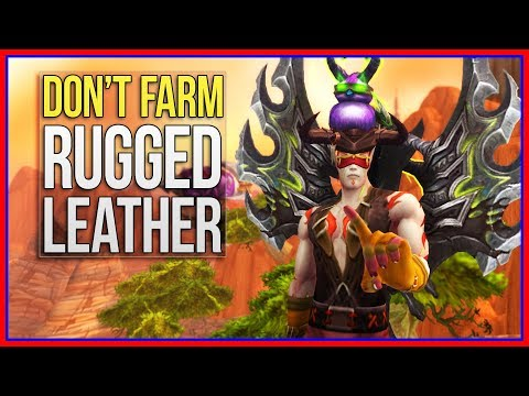 Don't Farm Rugged Leather