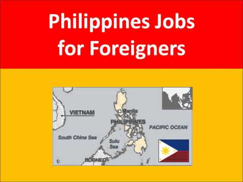 Philippines Jobs for Foreigners