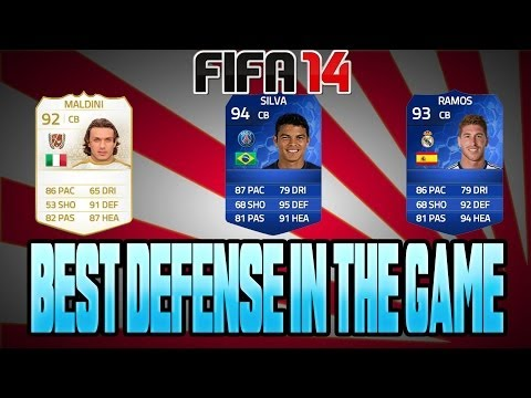 FIFA 14 BEST DEFENSE IN THE GAME ULTIMATE TEAM