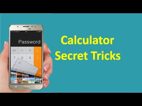 Android Calculator Secret Trick