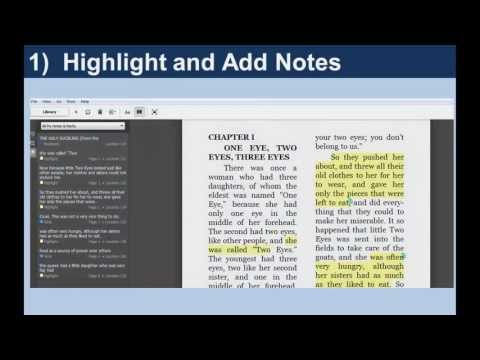 Annotating with Kindle Apps