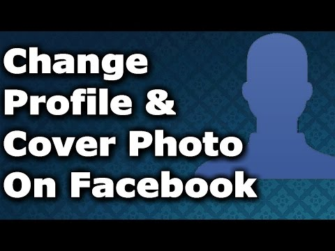 How to Change Profile picture & Cover Photo on facebook ✔