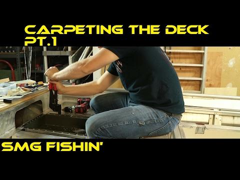 $25 Recessed Foot Pedal Tray Installation | Jon Boat to Bass Boat Restoration