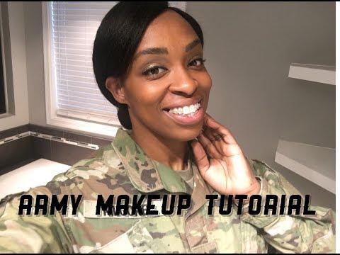 Army Makeup Tutorial