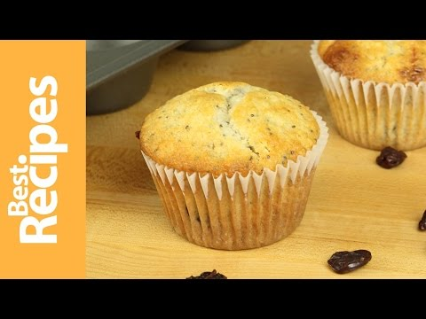 Cherry Chia Muffins - Best Recipes with Drew Maresco