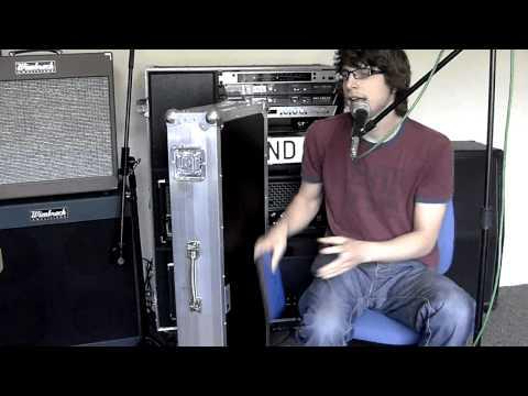Castle Cases Custom Guitar Case Demo - David Bond