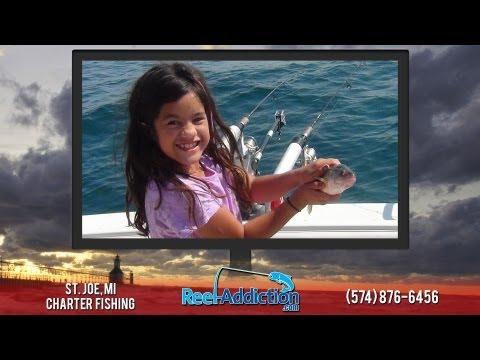 Lake Michigan Perch Fishing | Reel Addiction Charters | Charter Boat Web Design