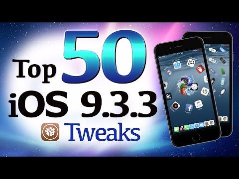 Top 50 BEST iOS 9.3.3 Cydia Jailbreak Tweaks / Apps for iPhone & iPad - NEW 2016. Pangu Tweak List