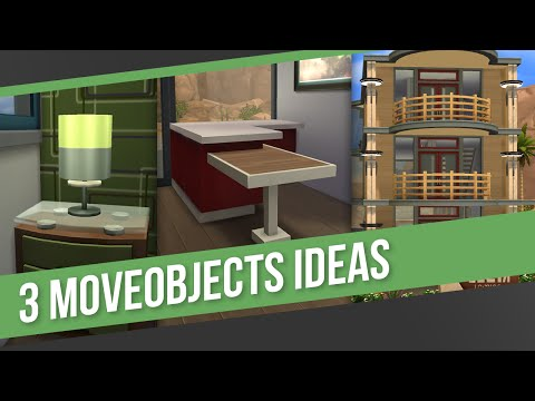 The Sims 4 - Building Tips & Tricks | 3 MoveObjects Ideas