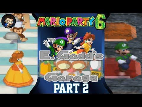 Mario Party 6 | E. Gadd's Garage - Part 2/7