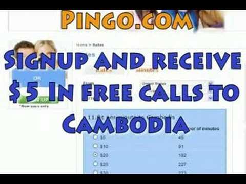 Cheap calls to Cambodia