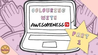 ✎ COLOURING WITH AWESOMENESSTV! || Part 1: The Outline ✎ (Megs Creations)