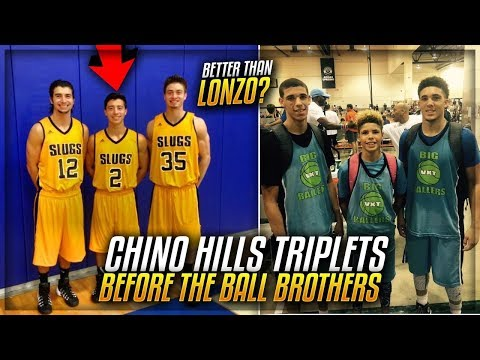 Meet Chino Hills Basketball TRIPLETS Before The BALL BROTHERS!