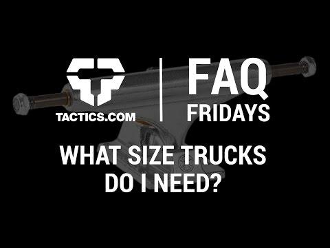 What Size Skateboard Trucks Do I Need? - FAQ Friday - Tactics.com