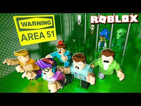 ESCAPE AREA 51 OBBY IN ROBLOX!
